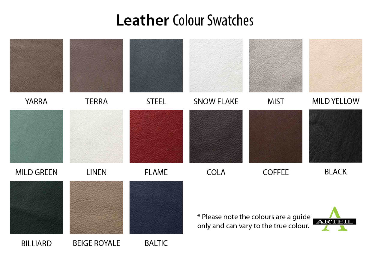 Leather Upholstery Colours