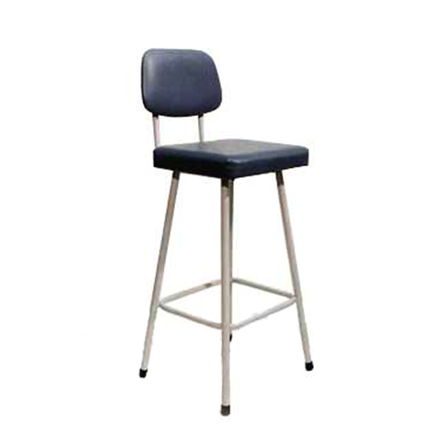 CH8 Stool with back rest