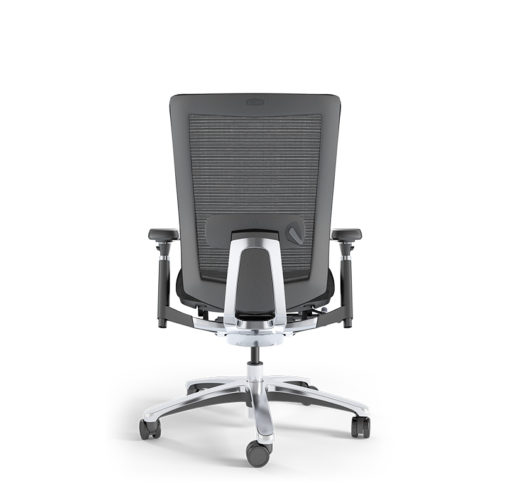 Memphis Mesh Office Chair - back view - without headrest